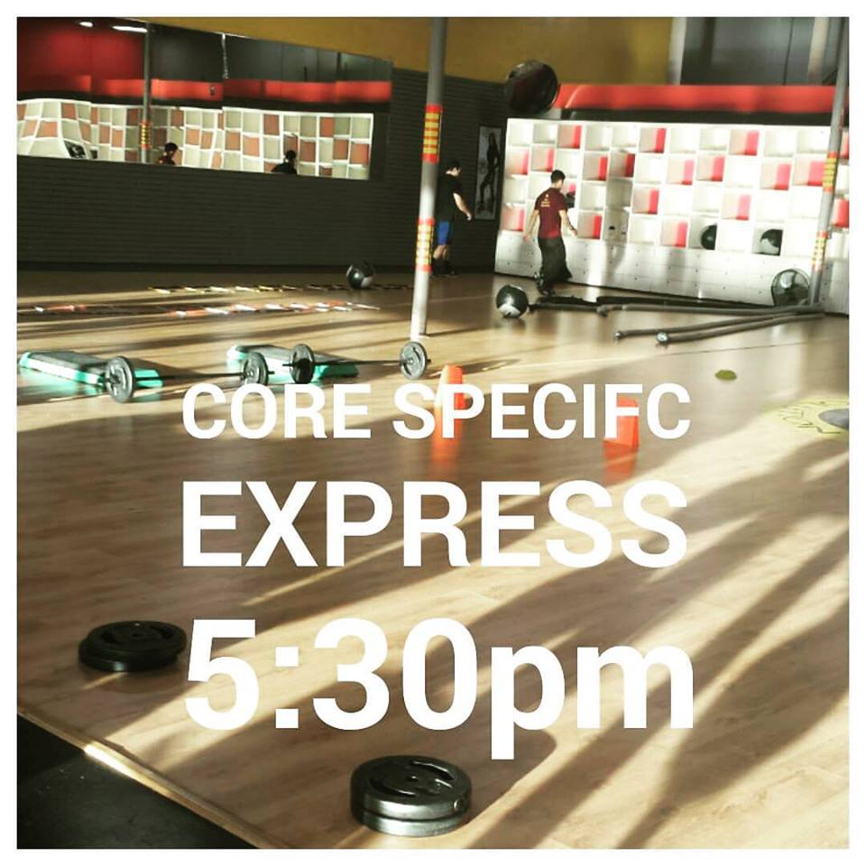 Core Specific Boot Camp WOD